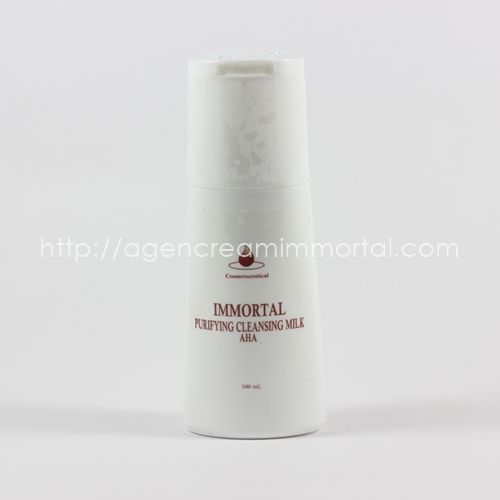 Immortal Purifying Cleansing Milk AHA
