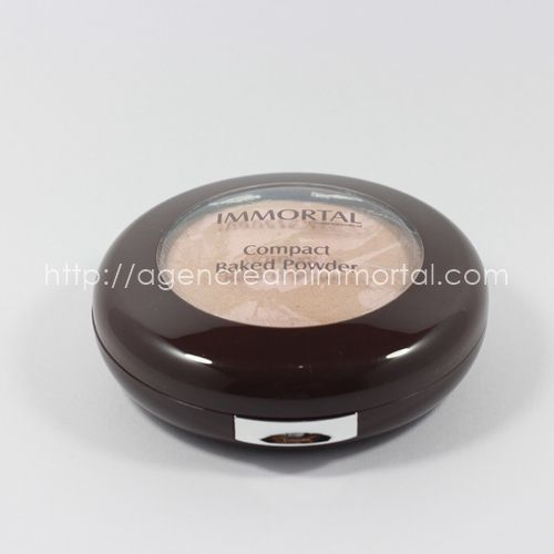 Immortal Compact Baked Powder Chrystal Natural