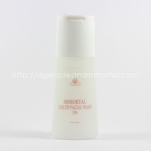 Immortal Liquid Facial Wash Dry Skin