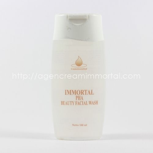 Immortal PHA Beauty Facial Wash agen immortal