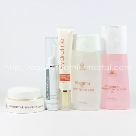 PAKET PERAWATAN KULIT NORMAL KERING IMMORTAL agen cream immortal