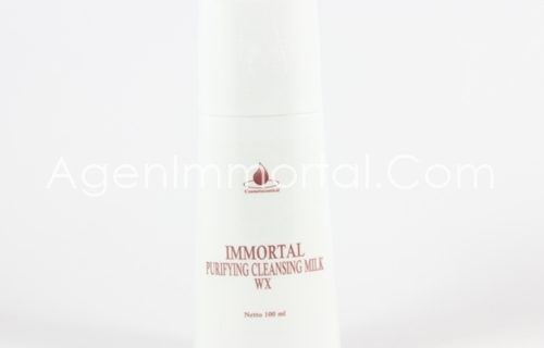 Immortal Purifying Cleansing Milk Whitening Series