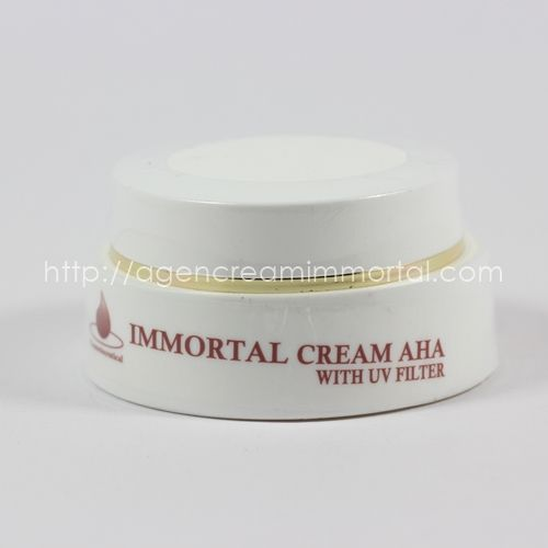 Immortal Aha Cream UV Filter