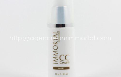 Immortal CC Cream Ivory