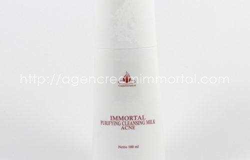 Immortal Purifying Cleansing Milk Acne