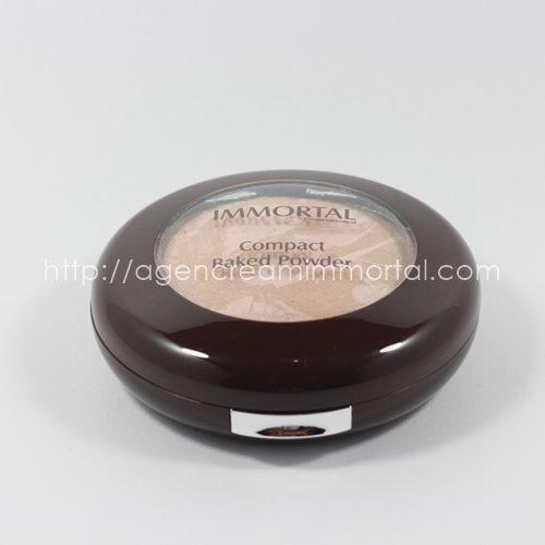 Immortal Compact Baked Powder Chrystal Natural