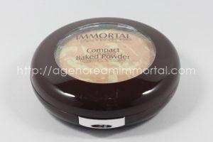 Immortal Compact Baked Powder Velvety Ivory