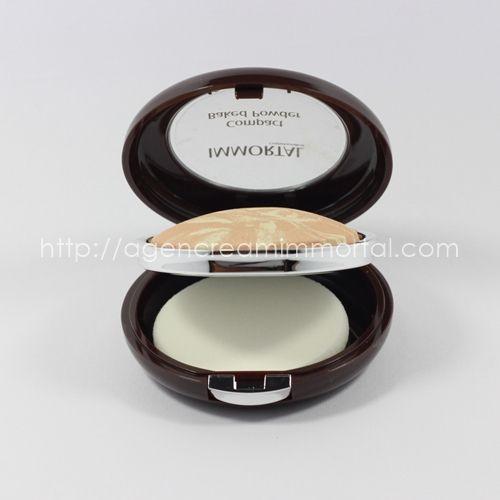 compact baked powder velvety ivory