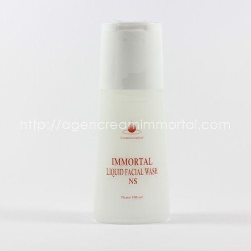 Immortal Liquid Facial Wash Normal Skin