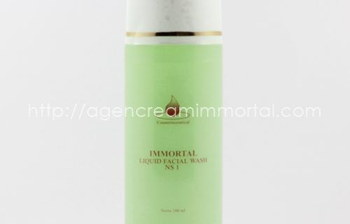 Immortal Liquid Facial Wash Acne Skin NS1
