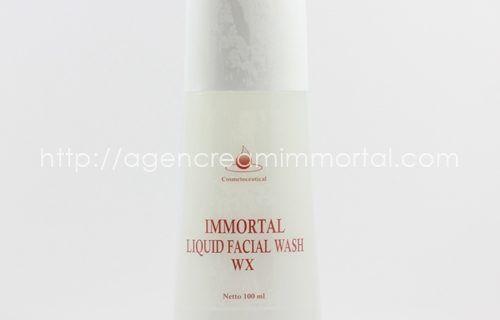 Immortal Liquid Facial Wash Whitening Series