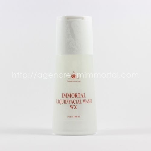 facial wash WX agen cream immortal