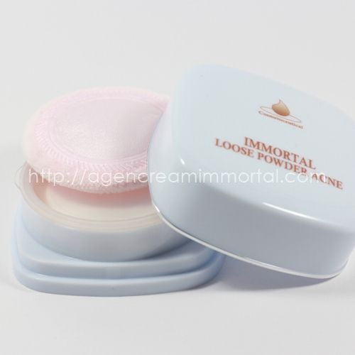 immortal loose powder acne natural