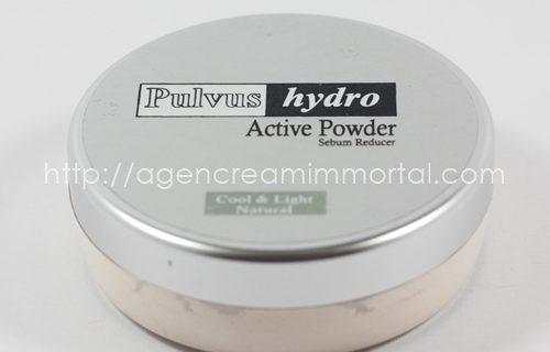 Immortal Pulvus Hydro Active Powder Sebum Reducer Natural