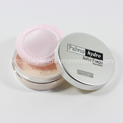 immortal loose powder sebum reducer natural