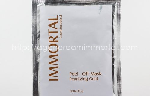 Immortal Peel Off Mask Pearlizing Gold