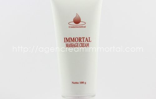 Immortal Massage Cream Tube