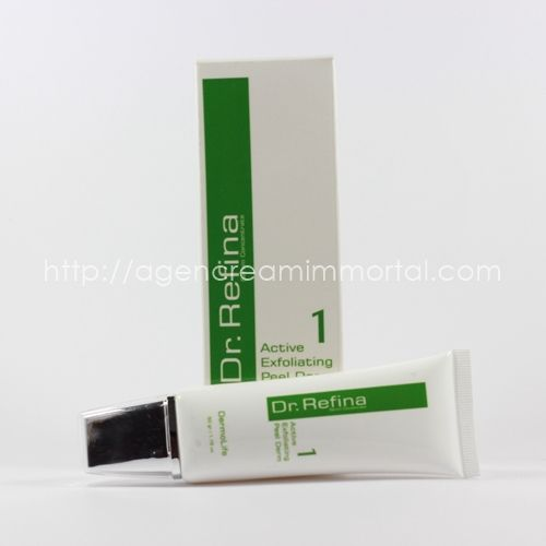 Dr Refina Active Exfoliating Peel Derm 1 agen immortal