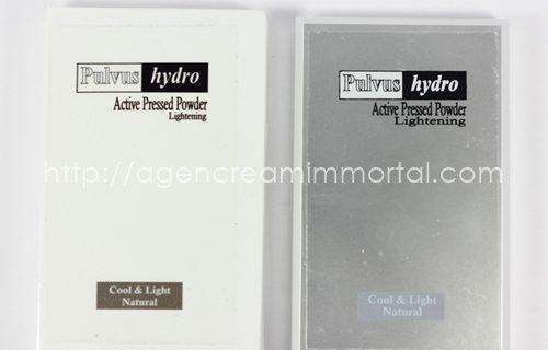 Immortal Pulvus Hydro Active Pressed Powder Lightening