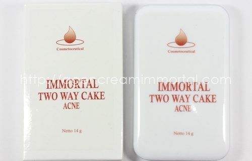 Immortal Two Way Cake Acne Natural