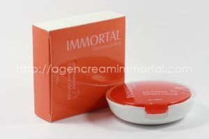 Immortal Sun Protector UVA UVB Ivory