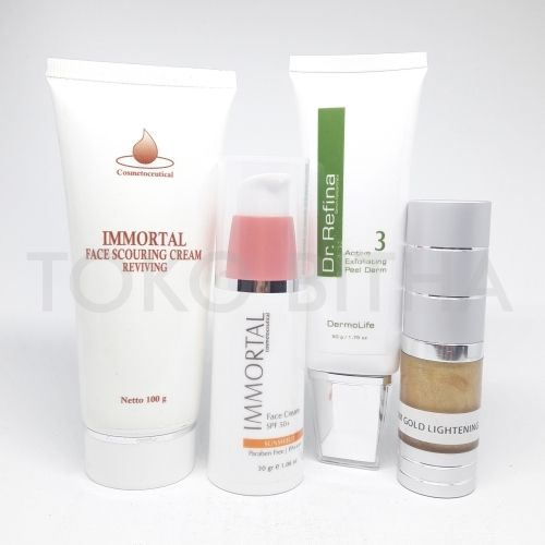 paket whitening anti flek immortal