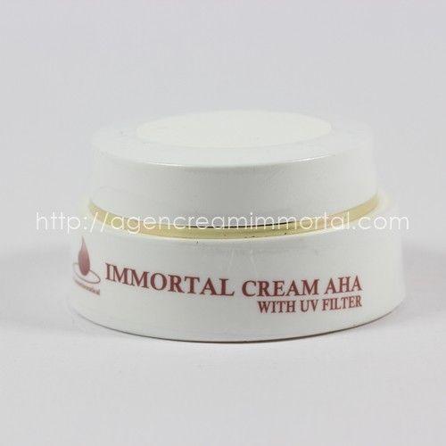 IMMORTAL AHA CREAM UV FILTER 1