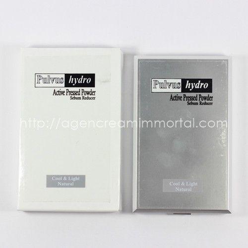 Pulvus Hydro Active Pressed Powder Sebum Reducer Natural 2