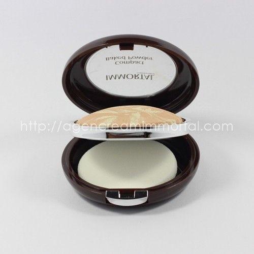 Immortal Compact Baked Powder Velvety Ivory 2