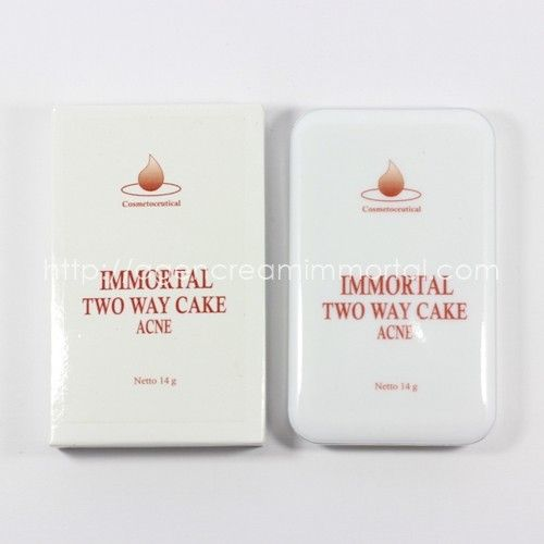 Immortal Two Way Cake Acne Natural 2