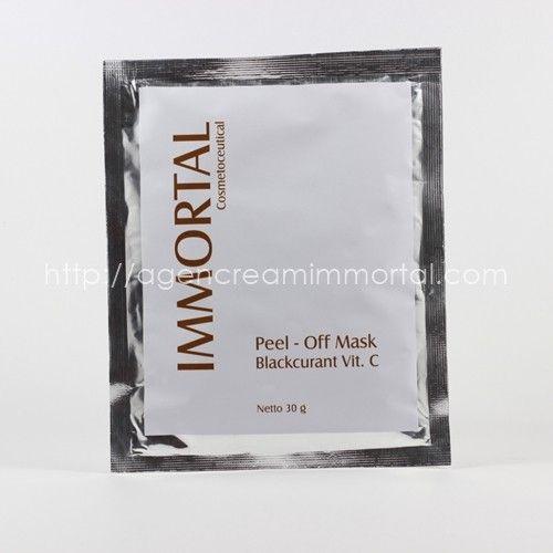 Immortal Masker Peel Off Blackcurant Vit C 1