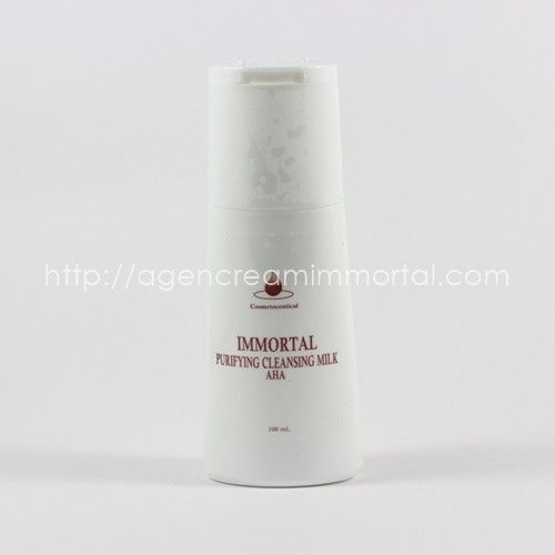 IMMORTAL PURIFYING CLEANSING MILK AHA 1