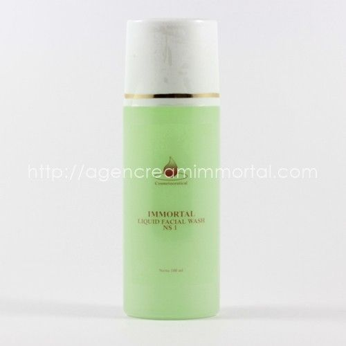 Immortal Liquid Facial Wash Acne Skin NS1 1