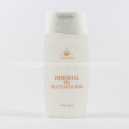 Immortal PHA Beauty Facial Wash 1