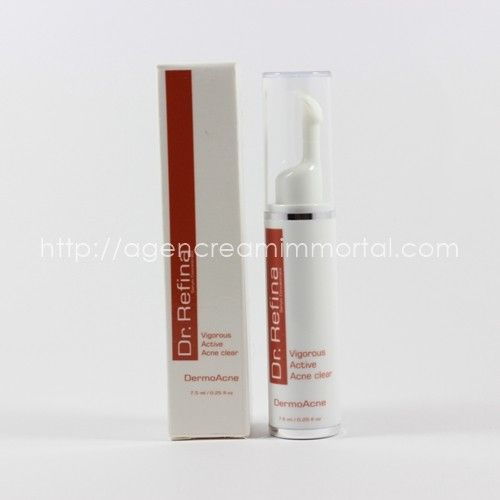 Dr Refina Vigorous Active Acne Clear 1