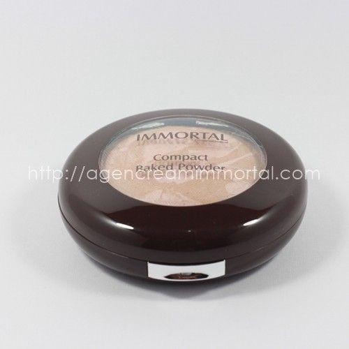 Immortal Compact Baked Powder Chrystal Natural 2