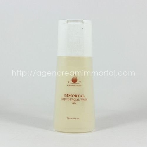 Immortal Facial Wash Acne AX 1
