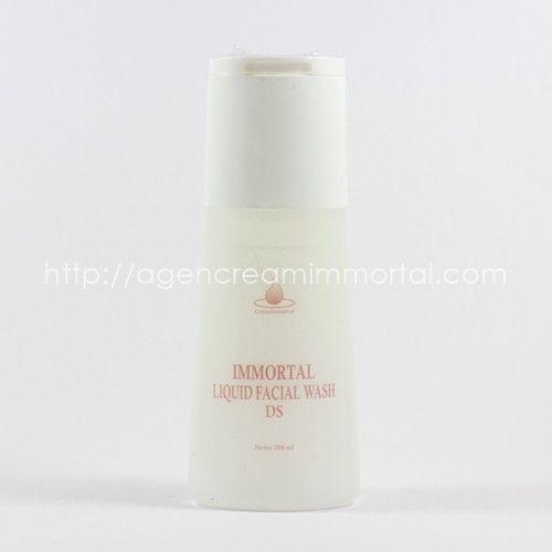 Immortal Liquid Facial Wash Dry Skin 1